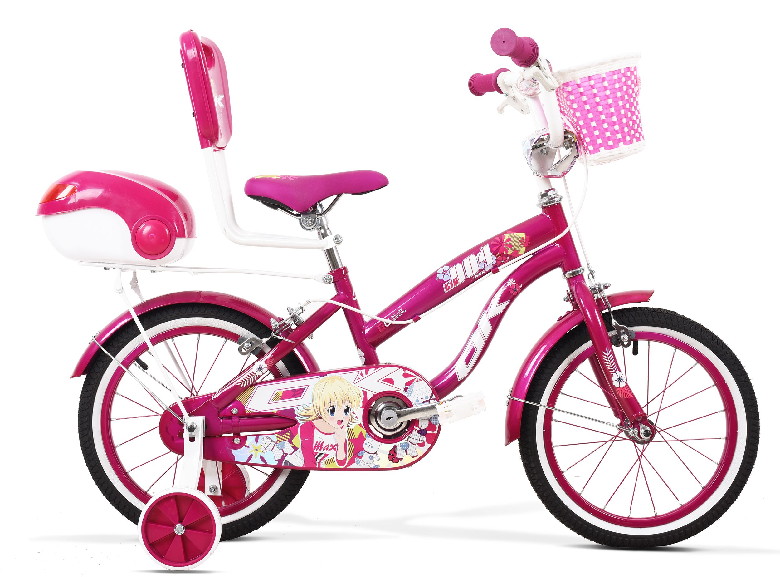 دوچرخه سایز 16 مدل K16004HR