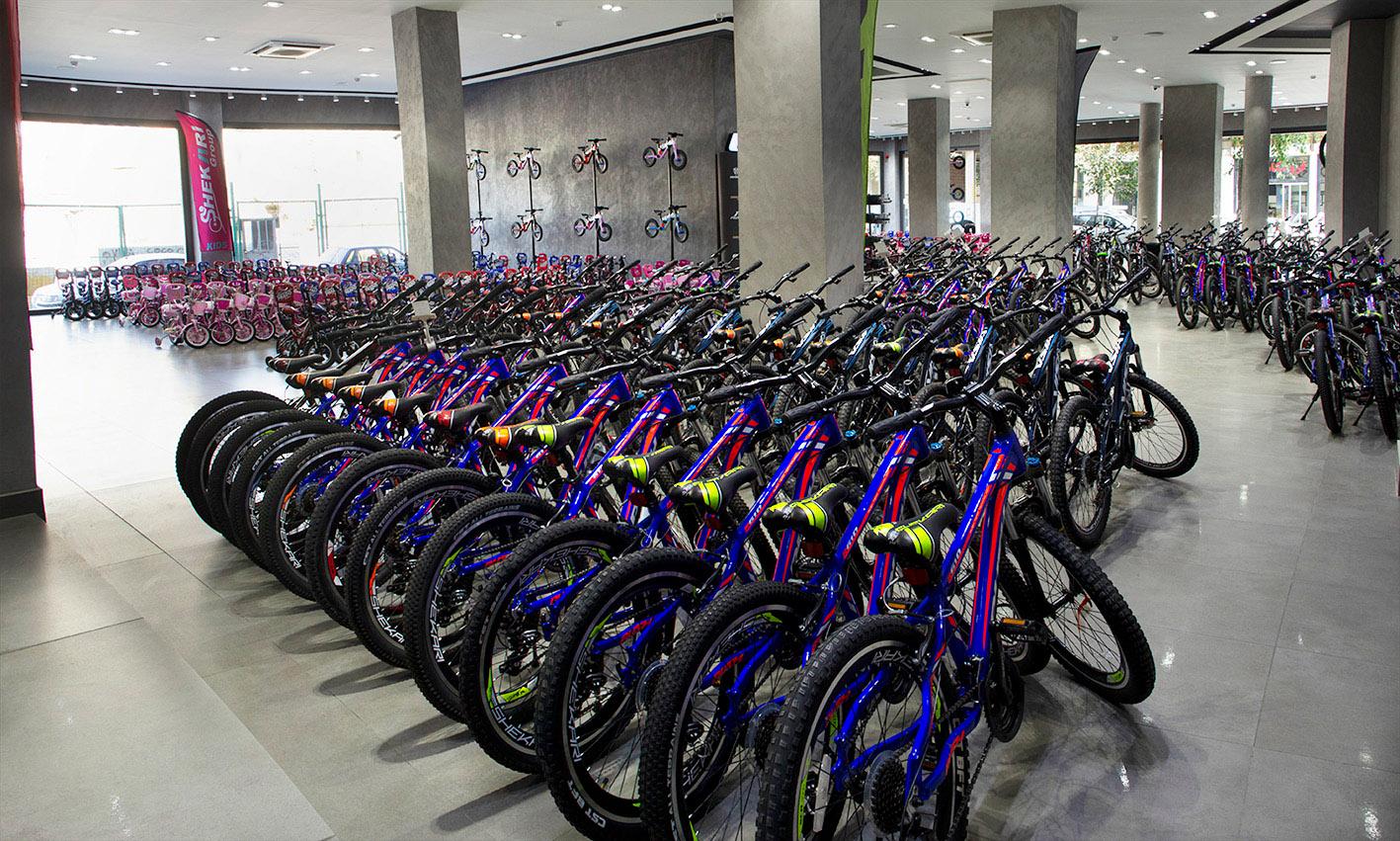 تصویر نمایندگی فروشگاه دوچرخه گروه شکاری