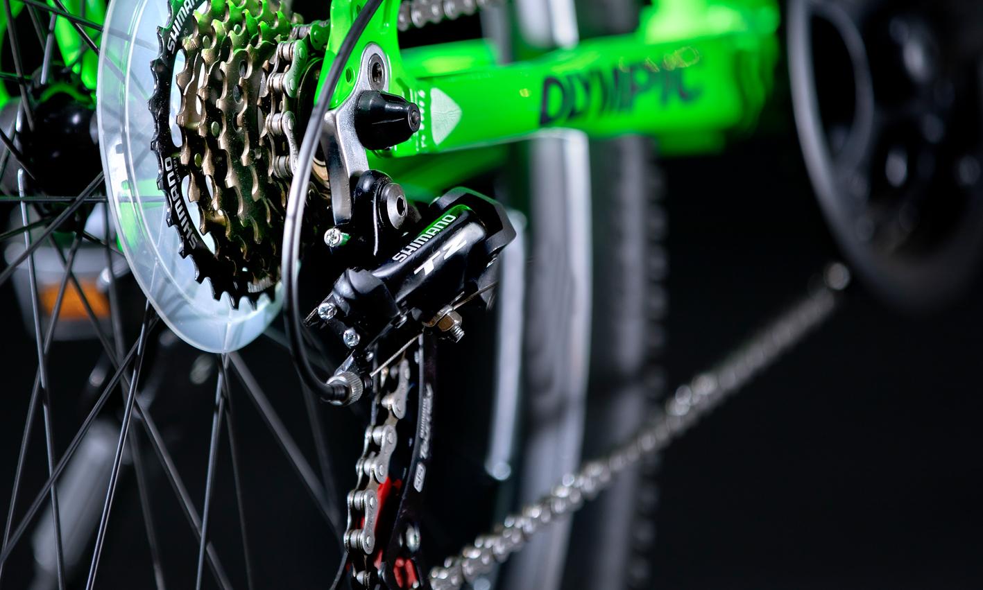 سیستم دنده شیمانو دوچرخه المپیک