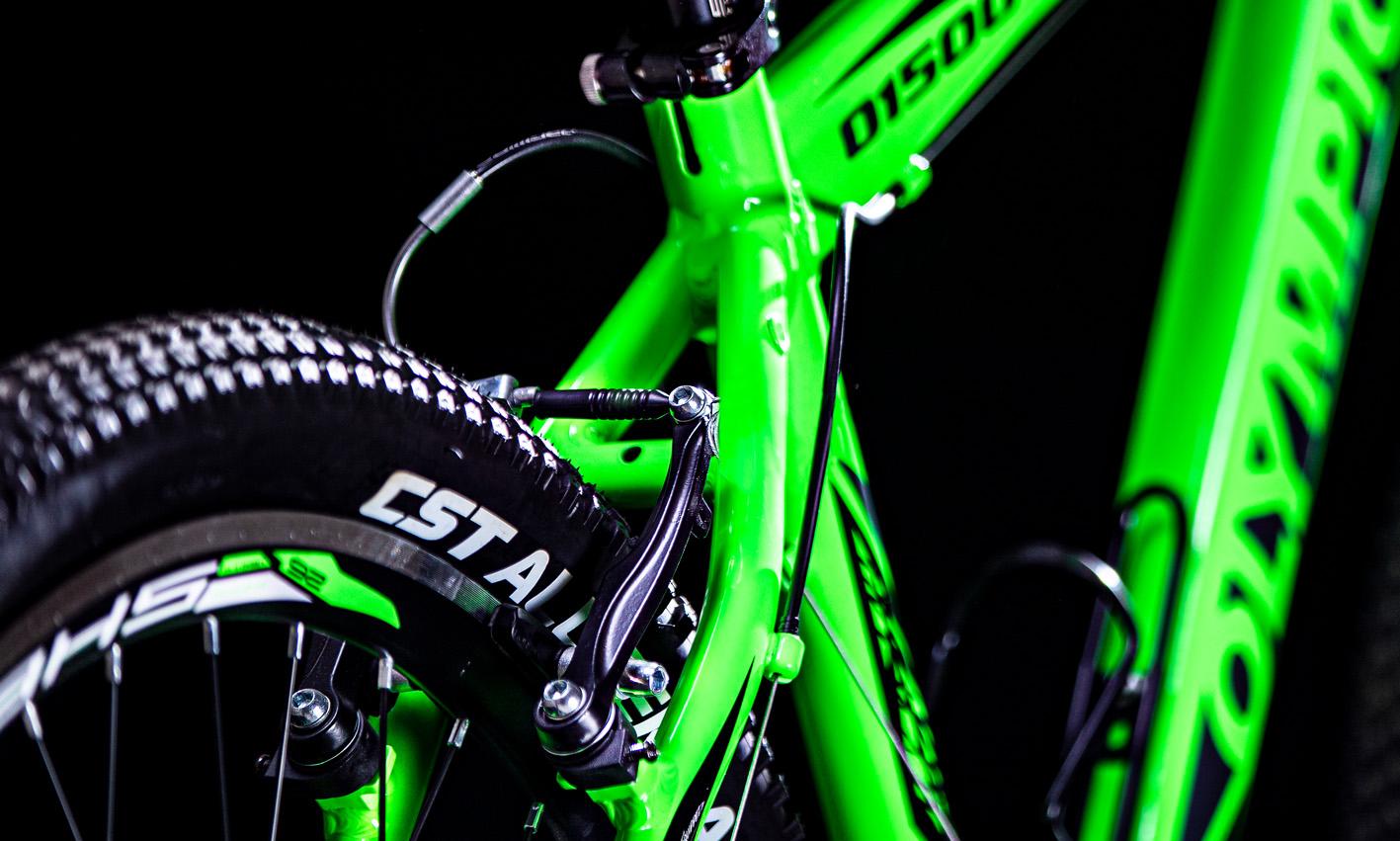 سیستم ترمز دوچرخه المپیک